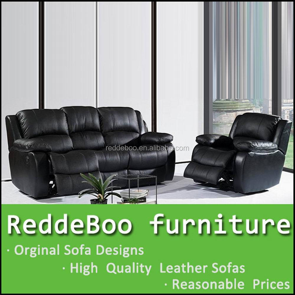 Wholesale furniture leather recliner sofa lazy boy Leather lazy boy sofa