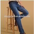 los hombres pantalones vaqueros 100% de algodón genim bigote de diseño al por mayor los hombres de jean