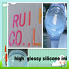 oil based two components liquid textile silicone rubber for clothing printing