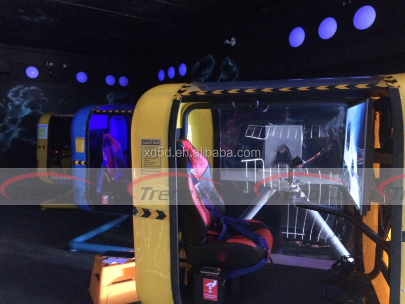 Thrilling flight simulator for sale 4d 5d theater for Project 5d