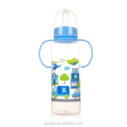 250ml Colorful Bpa Free Food Grade Pp Baby Feeder Bottle