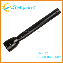 GWS-ME-2SC china supply waterproof rechargeable aluminum alloy long distance lighting hand-held emergency light