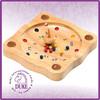 "8"" professional mini wooden roulette wheel"