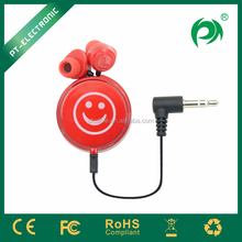Humanized design and powerful sound cheap earphone from China manufacturer