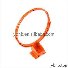 Contemporary promotional orange breakaway basketball rim
