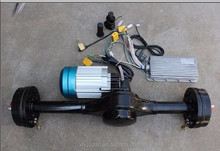 Electric rickshaw spare parts DC brushless motor and controller for india