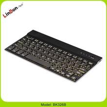 Teclado de la computadora para IOS / Android / Windows Tablet bluetooth inalámbrico retroiluminación del teclado cubierta