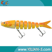 China soft lure 3D eyes lures hard bait fishing tackle wholesale