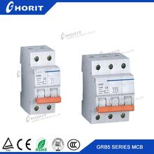 Double Poles 20A C45N Mini circuit Breaker manufacturer