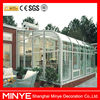 aluminum profile lowes laminated glass sun houses/energy save glass house