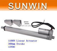 Low Noise Electric Linear Actuator 12v DC Motor 300mm Stroke Linear Motion Controller 6mm/s