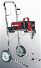 Piston airless paint sprayer with Chromex trolley cart & wheels NA-450H