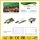 2015 Cartão de visita USB Flash Drive com design personalizado impressão do logotipo