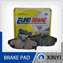 brake pad from Chinese 23years old manufacing Hi-q semimetal /ceramic/scorched