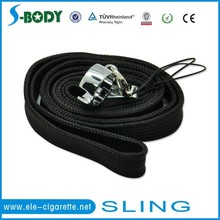 E-cig lanyard with o-ring,Easy carrying necklace