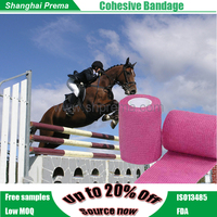 FDA Approved Cotton Elastic Adhesive Bandage with Strong Adhesion