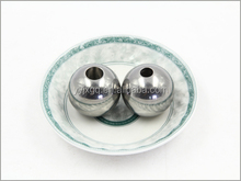 stainless steel hollow ball with hole