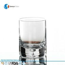 venta al por mayor highball de vasos de vidrio de la burbuja con <span class=keywords><strong>base</strong></span> en
