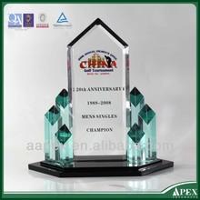 elegant design crystal vase awards trophy