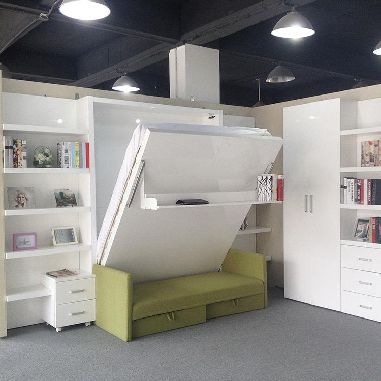 falten klappbett mit sofa wand bett verborgen wand bett. Black Bedroom Furniture Sets. Home Design Ideas