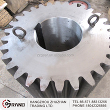Pinion Gear Matched to Reduction Gear Box for Ball Mill and Rotary Kiln