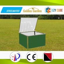 Latest style modern design galvanized steel sheet home storage box