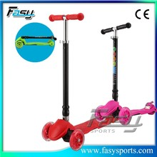 Fasy great fun for indoor/outdoor three wheel kids scooter For sale