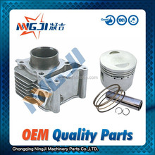 High Quality Motorcycle Engine Parts,Cylinder kit for 100cc Engine ;Single cylinder ;Air-Cooled ,aluminium alloy ,49mm