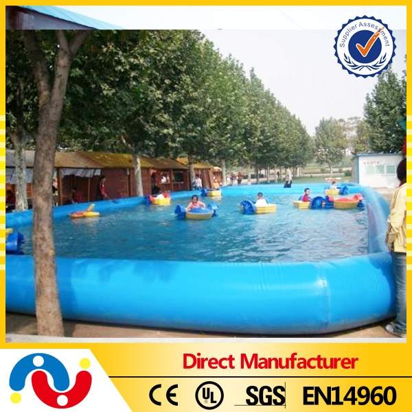 2015 Outdoor Above Ground Inflatable Pontoon Swimming Pool Floating Pool For Sale Buy Pontoon