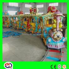 2015 the most popular kids amusement park track train for sale