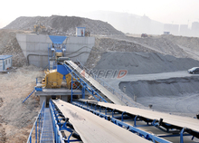 Rubber,steel Material and Slat Conveyor,belt conveyor Type sand belt conveyor