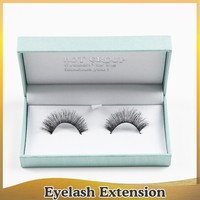 private label handmade korea material silk eyelash extension remy human mink eyelashes