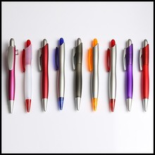 S shape and Fat new custom plastic ball pen /cute pen