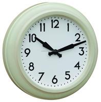Retro home decorative metal wall clock in antique design