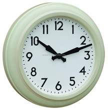 Retro home decorative metal wall clock in antique design