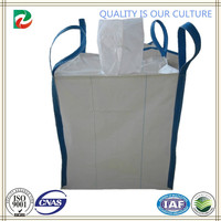 Blue Side-seam Loops PP Big Bag with top fill spout