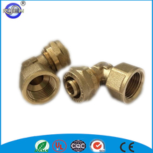 16mm copper brass compression fitting for PE pipe