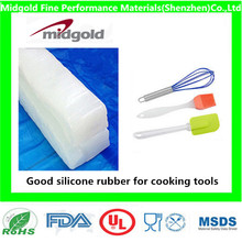 Good silicone rubber for silicone cooking tools