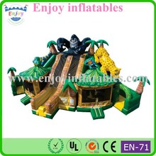 2015 Enjoy animals/jungle/tree/dragon/dinosaur/mickey mouse/jurassic/ocean/spiderman/inflatable fun city amusement park