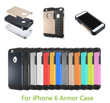 2015 Stylish hybrid armor shockProof protective hard mobile phone cover bumper for apple iphone 6 made in china