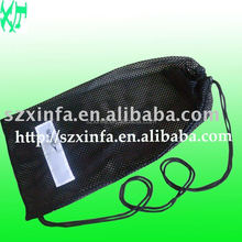 mesh bag with drawstring for packing vegetable and fruit(directly from factory)