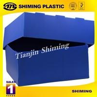Corrugated PP Foldable Storage Box,Hot Sales Cheap PP Coroplast Plastic Folding Boxes