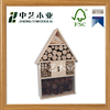 China manufacture eco-friendly customizable wooden nsects hotel / bee home