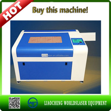 dog/name tag laser engraving machine with CE 400*600mm