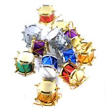 2015 new fashionable Christmas small pendant / drums for Christmas,wholesale price christmas tabour pendant