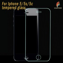 2015 2.5D 0.26mm Thickness 99% Transparency Fingerprint Proof For Iphone 5 Screen Protector