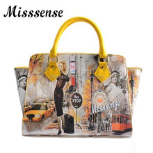 Fashion Ladies Handbag Printed Tote Bag
