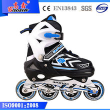 GX-1407 in-line speed skates boots with ABCE-7 bearing