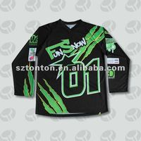 Custom sublimation motorcycle apparel products
