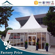 3mx3m,4mx4m,5mx5m Glass Wall Exhibiton Tent With Pagoda For Sale